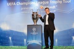 Suker com copo de Champions League Fotos de Stock Royalty Free