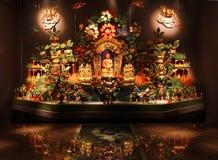 Sukhavaty - terre pure de Bouddha Amitabha, objet exposé unique de musée de l'histoire de la religion, Russie Photo libre de droits