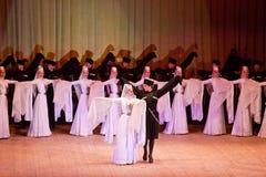 Sukhishvili balett Arkivfoto