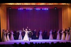 Sukhishvili balettkapacitet Fotografering för Bildbyråer