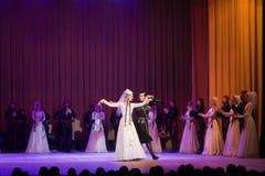 Sukhishvili balettkapacitet Arkivbilder