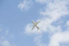 sukhoi 100 αεροπλάνων superjet Στοκ Εικόνες