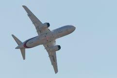 sukhoi 100 superjet Στοκ εικόνες με δικαίωμα ελεύθερης χρήσης