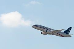 sukhoi 100 superjet Στοκ Φωτογραφία