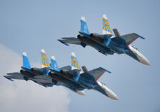 Sukhoi 27s Royalty Free Stock Images
