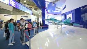 Sukhoi company stock video footage
