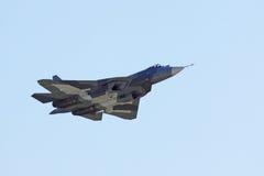 Sukhoi朴FA T-50 免版税图库摄影