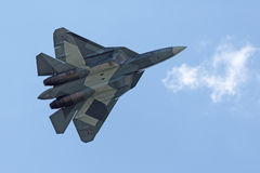 Sukhoi朴FA T-50 免版税库存照片