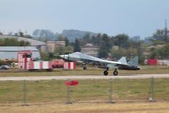 Sukhoi PAK FA τ-50 Στοκ Φωτογραφίες
