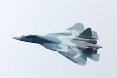 Sukhoi PAK FA T-50 Fotografia Royalty Free