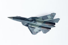 Sukhoi PAK FA T-50, bottom view Stock Image