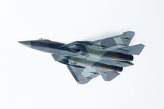 Sukhoi PAK fa T-50, vue inférieure image stock