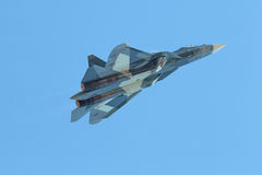 Sukhoi PAK FA T-50 Royalty Free Stock Photos