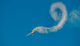 Sukhoi-Su31 ο αέρας παρουσιάζει Στοκ εικόνες με δικαίωμα ελεύθερης χρήσης