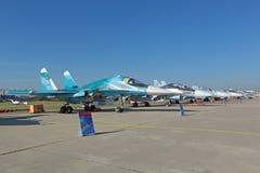 Sukhoi Su-34 (защитник) Стоковые Изображения