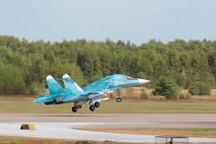 Sukhoi Su-34 (защитник) Стоковое Фото