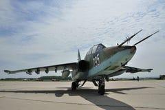 Sukhoi SU-25UBK stockfoto