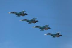 Sukhoi Su-34 Immagine Stock