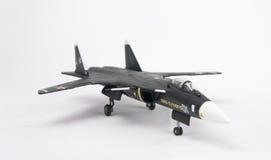 Sukhoi Su-47 modellerar Fotografering för Bildbyråer
