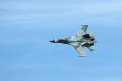 Sukhoi Su-27 Zdjęcie Stock