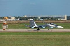 Sukhoi Su-35 Zdjęcia Stock