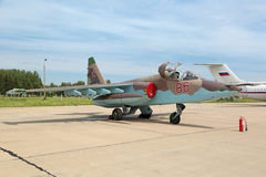 Sukhoi Su-25 Obrazy Stock