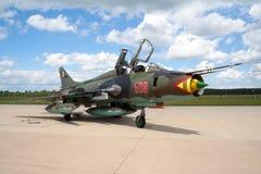 Sukhoi Su-22 Zdjęcia Royalty Free