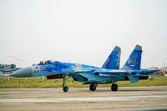 Sukhoi Su-27 Image stock