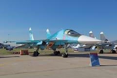 Sukhoi Su-34 (arrière) Photos stock