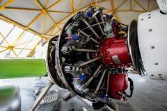 Sukhoi-Su31 Engine Air Show. Banesti Stock Photos