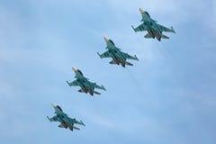 Sukhoi Su-34 (fullback) Fotografie Stock