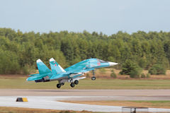 The Sukhoi Su-34 (Fullback) Stock Photo