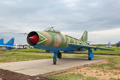 Sukhoi Su-7 Royalty Free Stock Photo