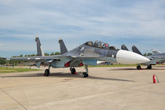 Sukhoi Su-30 Royalty Free Stock Photo
