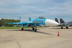 Sukhoi Su-27 Stock Photography