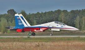 Sukhoi Su-30LL samolot szturmowy Fotografia Stock