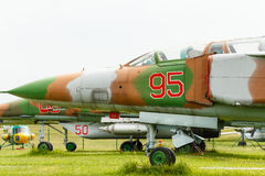 The Sukhoi Su-24 Stock Images