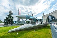 Sukhoi Su-27 na pokazie Zdjęcia Royalty Free