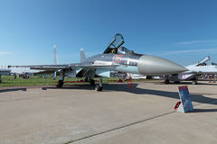Sukhoi Su-35s Royalty Free Stock Photography