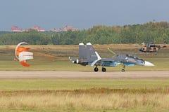 Sukhoi SU-30 SM Στοκ Φωτογραφίες