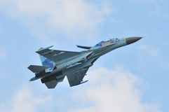 Sukhoi Su-27 Royalty Free Stock Photo