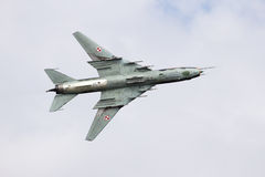 Sukhoi Su-22 Royalty Free Stock Images