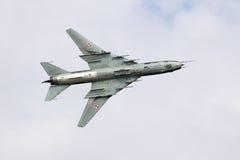 Sukhoi Su-22 Royalty Free Stock Images