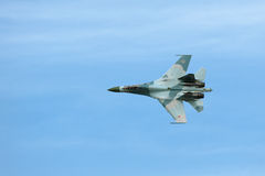 Sukhoi Su-27 Stock Photo