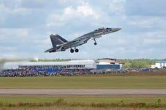 Sukhoi Su-35 Royalty Free Stock Photo