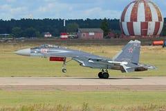 The Sukhoi Su-35 Stock Photos