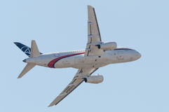 Sukhoi Superjet-100 Royalty Free Stock Photos