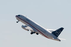 Sukhoi Superjet-100 Stockbild