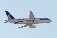 Sukhoi Superjet-100 Image stock