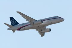 Sukhoi Superjet-100 Royalty Free Stock Photography